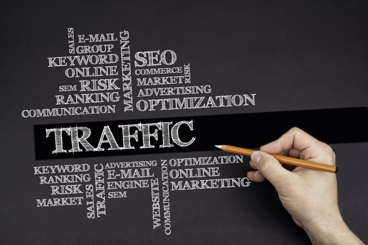 SEO web traffic conversion